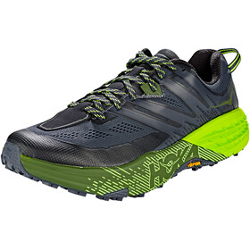 Hoka One One Speedgoat 3 Running Shoes Men Ebony/Black